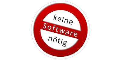 ohne Software