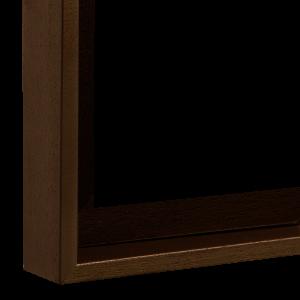 Dunkelbraun lasiert (16-1141)