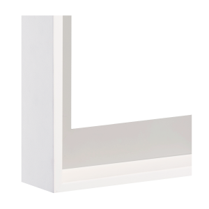Silber außen/Weiß innen - Sichtkante Silber (16-1149)