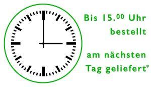 Schnelle Lieferung - Uhr - bis 15 Uhr bestellen