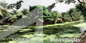 Museumsglas-Muster