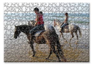 Puzzle groß - Muster