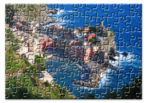 Puzzle klein - Muster