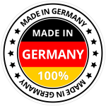 Siegel- Made in germany