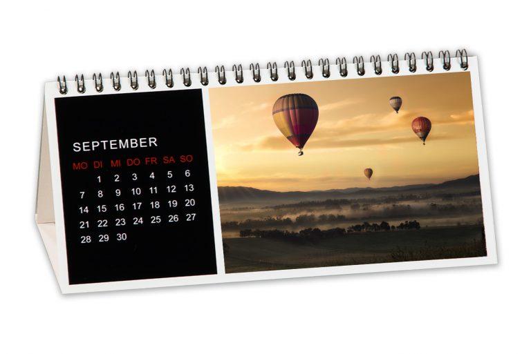 Tichkalender - Quer